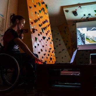 Serata Sherpa: Loli prende il microfono