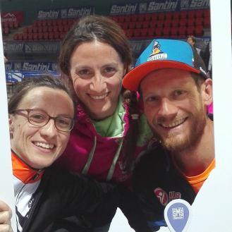 Granfondo Stelvio Santino: selfie con Cristian Pozzi, organizzatore